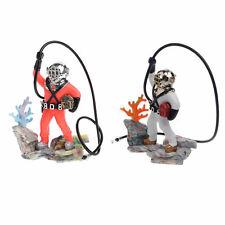 Fish Tank Aquarium Sea Treasure Diver Hunter Air Action Ornament Decoration Gift