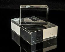 5er Set Acrylsockel Klassik in verschiedenen Größen