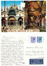 St. Marks, Venice, Postcard, 1972