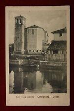 CERVIGNANO Chiesa - Dall'Italia Redenta,no viaggiata,anni 10#14250
