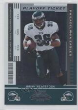 2005 Playoff Contenders Ticket #73 Brian Westbrook Philadelphia Eagles Card