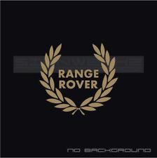 Range Rover Racing Wreath Decal Velar Land Rover LR4 Discovery LR2 Evoque Pair
