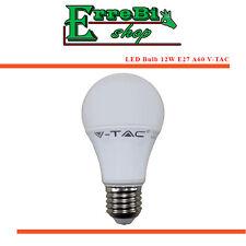 LAMPADINA A LED A60 E27 12W 3000K 4500K 6000K LUCE 200° LAMPADA ALTA LUMINOSITÀ