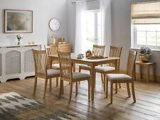 Julian Bowen Ibsen Shaker Extending Dining Table & Chairs - Light Oak Finish