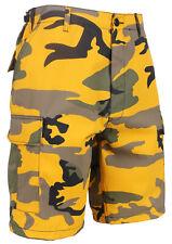 Rothco Stinger Yellow Camo BDU Shorts