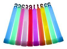 """25x 6 """"pollici bastoni luminosi glowtopia-avvolti individualmente, per tutte le occasioni"""
