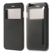"""Apple iPhone 6 6S 4.7"""" Wallet Handy Tasche Sicht Fenster Folio Klapp Etui Cover"""