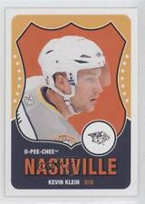 2010-11 O-Pee-Chee Retro #443 Kevin Klein Nashville Predators Hockey Card