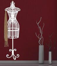 Elegante manichino STAFFA MURO Ganci Autoadesivi-Adesivi da Parete. molti colori