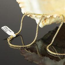 Venezianerkette 2 mm Kette Echt 750er Gold 18 Karat vergoldet Damen Herren K1442