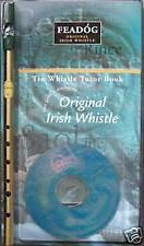 Genuine Original Irish Tin Whistle, Book & CD by Feadog, F20
