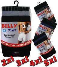 12 Pack Mens Gents Classic Soft Cotton Rich Boxers Boxer Short S-6XL - Free Post