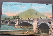 PERU*1900s PC*PUENTE DE BALTA Y CERRO SAN CRISTOBAL