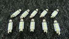 VOLKSWAGEN 36MM 3 SMD LED Luz Festoon Domo Interior Exterior Lámpara Bombilla
