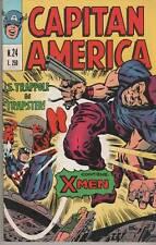 CAPITAN AMERICA corno N.24 LE TRAPPOLE DI TRAPSTER ! originale 1974  X-MEN