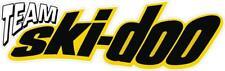 #G124 (1) Ski-doo Skidoo Racing Team  Decal Sticker Fully Laminated Trailer Wall