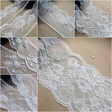 Antiguo Vintage Off white/ivory encaje cinta Boda Adorno Shabby Rústico amplia Sew