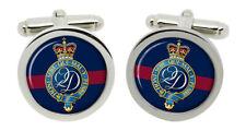 Queen's Division, British Army Cufflinks in Box