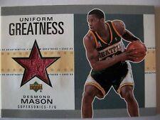 02-03 UD Authentics Uniform Greatness DESMOND MASON , SEATTLE BOX # 46