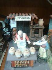 antica farmacia pastore in movimento 10 cm  presepe crib Shepherd