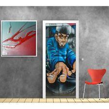 Stickers pour porte déco - Graffiti Tag 700