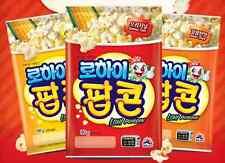 Korean SAJO LOHI Microwave Popcorn 90g, 2,4,9Packs, Original / Sweet / Butter