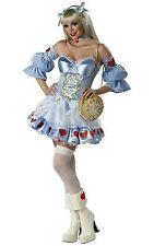 California Costume Cosplay Rebel Alice in Wonderland Adult Women Costume USA NEW