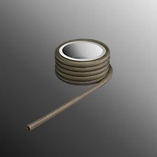 Glasfaser Schlauch Silikon Harz Glasseide 350° (350°C) Temperatur 3,5 mm