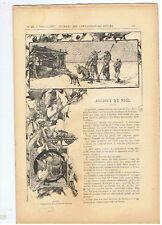 JOURNAL 1893 NOEL JOUETS CHAISES A PORTEURS SOURCES DE NOUVELLE ZELANDE THELEM
