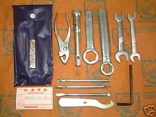 Honda CB 750 KZ F2 C K Four Werkzeugsatz Werkzeug Boardwerkzeug tool set