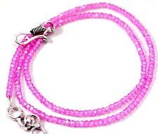 Necklace Faceted Beads 22 Inch Good Ebay !! 2x3 mm Zircon Gemstone Rondelle QD59