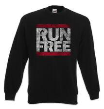 Run Free Sweatshirt Pullover Parcours Parkour Sport Sports PK Fun Runner
