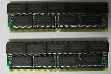128MB 2x 64MB EDO SIMM with Parity 72p Memory RAM 72pin 16x4 ICs 60ns