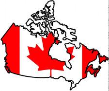 "Auto Aufkleber Kanada ""Canada"" Vinyl Sticker Decal die-cut konturgeschnitten"