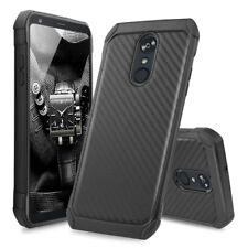 For LG Stylo 4/Stylo 3/Plus Slim Carbon Fiber Shockproof TPU Hybrid Case Cover