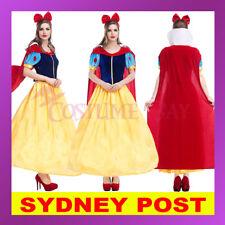 Snow White Cinderella Princess Disney Costume Holloween Fairytale Fancy Dress