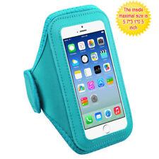 Baby Blue Sports Gym Running Jogging Walking Armband Case Phone Holder Strap