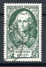 STAMP / TIMBRE FRANCE OBLITERE N° 853 CELEBRITE CHARLES DE SONCONDAT MONTESQUIEU