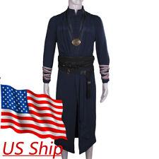 Cosplay Dr Doctor Strange Ring Eye of Agamotto Necklace Steve Full Set Costume
