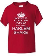 Keep Calm and  Do The Harlem Shake Boys Girls T-Shirt Gift Age 1-13