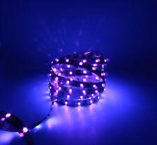 LED strip, 12V, 5m/reel, 60LED/M, Purple, Cold white, White.non waterproof light
