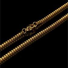 Venezianerkette 2 mm 999er Gold 24 Karat vergoldet Damen Herren gelbgold K2876S