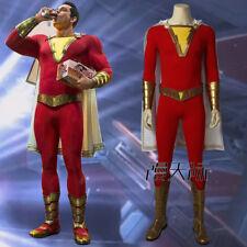 Shazam Captain Marvel Cosplay Kostüm Costume Outfit Halloween Shoe