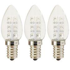 3-Bulbs A-C7E12LCW C7 LED Night Light bulb 120V E12  0.5Watt Cool White Anyray