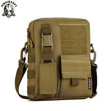 Mens Tactical Sling Bag Messenger Shoulder Military Molle Outdoor Handbag Hiking