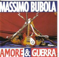 CD MASSIMO BUBOLA - AMORE E GUERRA - 1996