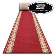 Traditional Runner Agnella Optimal Rogatek Red Wine Width 67 - 150 cm