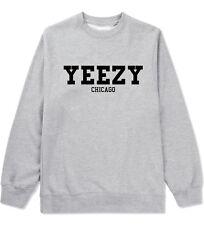 KINGS OF NY Yeezy Chicago Crewneck Sweatshirt West Mr 77 Fashion Yeezus LA