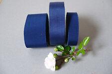 Vintage French Petersham/Grosgrain Ribbon. Royal Blue. 3 widths  1 Metre