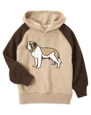 GYMBOREE ALPINE PATROL BROWN DOG HOODED FLEECE JACKET 3 4 5 6 7 8 10 12 NWT